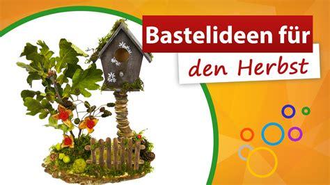 bastelideen für den herbst geniale vogelhaus deko