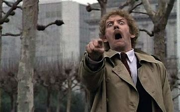 Image result for images donald sutherland invasion of the body snatchers
