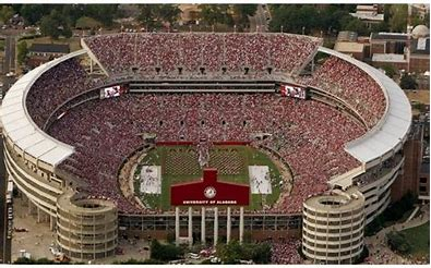 Image result for images filled bryant denny stadium