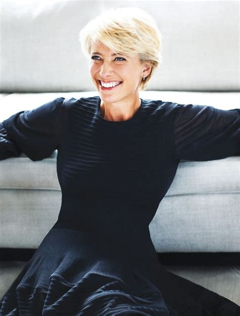 emma thompson love her haircut her personality her