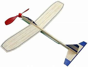 Image result for royalty free picture of toy wood rubber band airplane