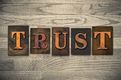 Image result for pics of trust
