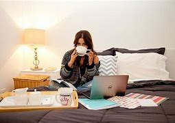 Image result for working from bedroom