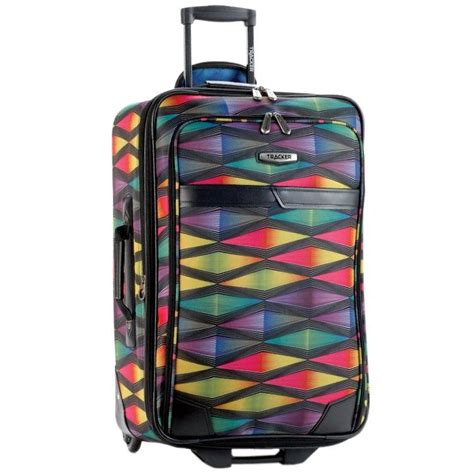 multi colour tracker hy voltage luggage set travel bags