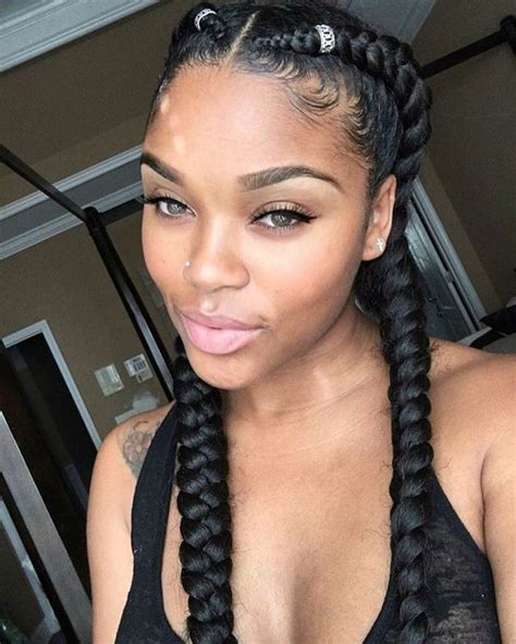 two braids hairstyles african american hairstyling