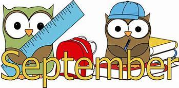 Image result for Month of September Clip Art