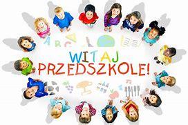 Obraz znaleziony dla: witaj przedszkole napis