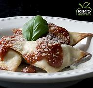 Image result for cheese ravioli with wonton wrappers