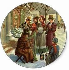 Image result for 1840 christmas