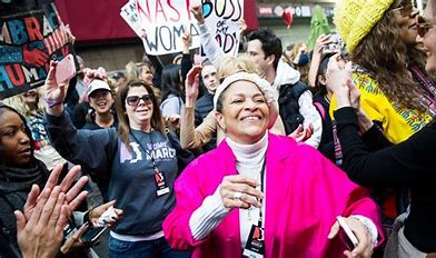 Image result for images happy marchers womens march on the mall