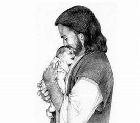 Image result for royalty free picture of jesus holding a child