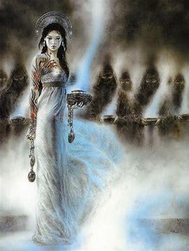 Image result for darkened women leaving art