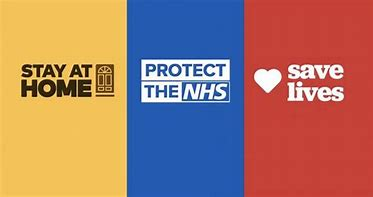 Image result for stay home saves lives nhs