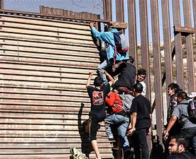 Image result for images illegal immigrants at border