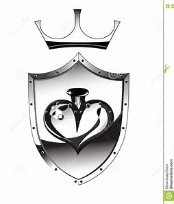 Image result for heart shaped shield