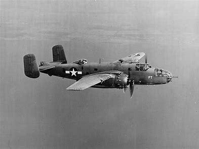 Image result for b-25 mitchell bomber