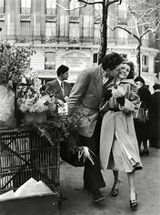 Image result for images lovers in Paris fifties