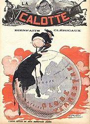 Résultat d'images pour journal '' la calotte '' 1911