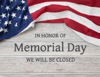 Image result for May Memorial Day Clip Art closed