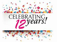 Image result for 12 celebrating years in business