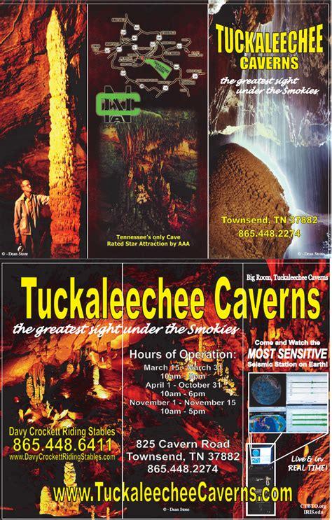 TUCKALEECHEE CAVERNS TOWNSEND TN GREATEST SITE UNDER THE