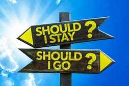 Image result for images should i stay or should i go