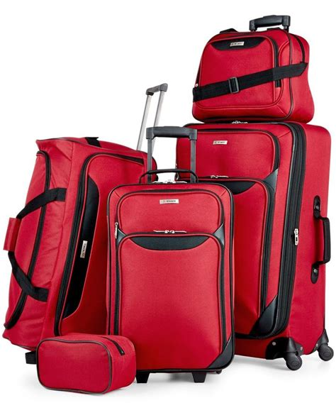 springfield iii pc luggage set created for macy s