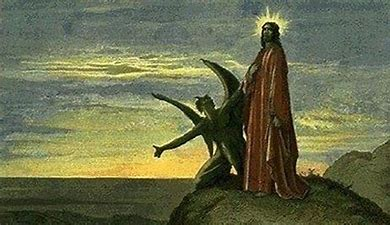 Image result for images jesus temptation in the desert