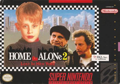 HOME ALONE LOST IN NEW YORK SUR SUPER NINTENDO