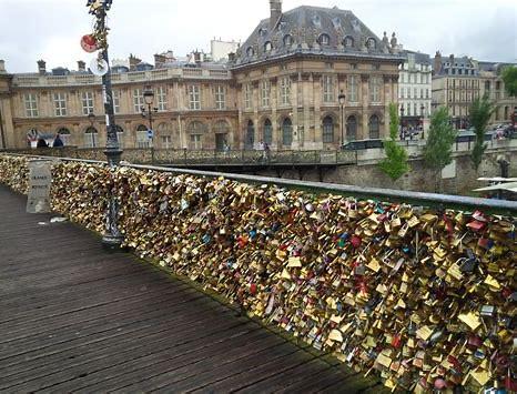 Image result for locks of love bridge paris