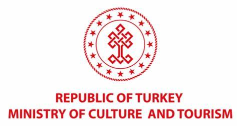 Turkey's Ministry of Culture and Tourism red logo
