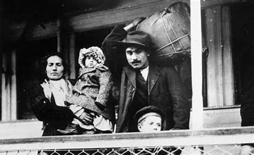 Image result for images old bw photo italian immigrants to america