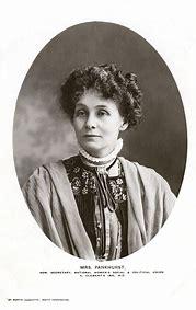 Résultat d'images pour emmeline pankhurst photo jpg