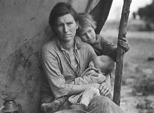 Image result for images great us depression 30s