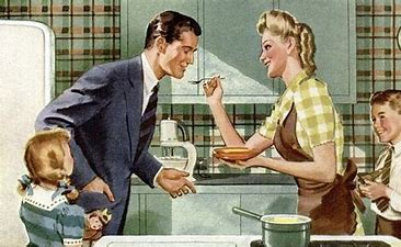 Image result for images Fifties happy family advertisement