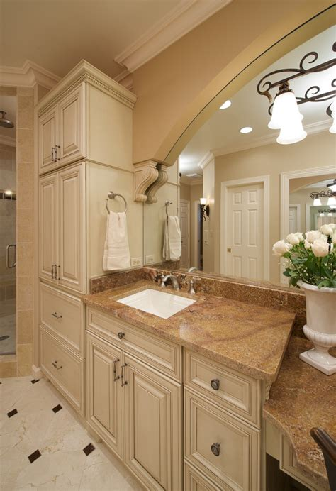 traditional tall bathroom cabinet ideas to try