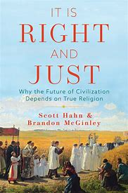 Image result for it is right and just book scott hahn