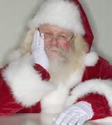 Image result for sad santa