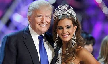 Image result for donald trump images with miss connecticut