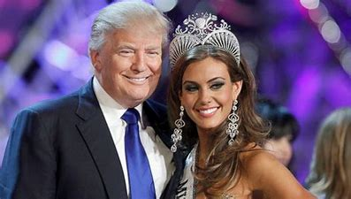 Image result for images trump and miss connecticut