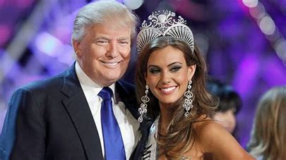 Image result for images donald trump with miss connecticut