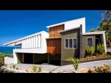 desain rumah minimalis dengan atap miring kedua arah youtube