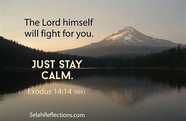 Image result for Let God fight your battles for you