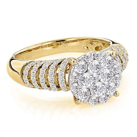 unique engagement rings ladies diamond ring ct k gold