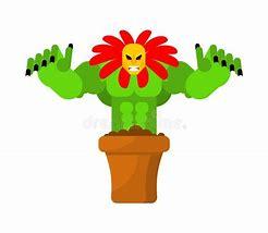 Image result for cartoon evil plants