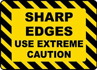 Image result for images of sharp edges