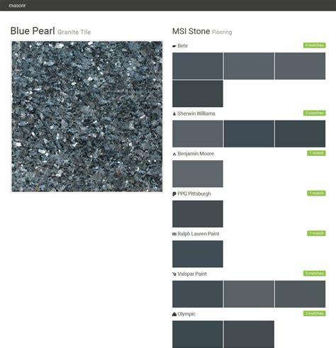 paint colors match blue pearl granite blue pearl granite