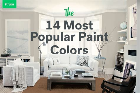the most popular paint colors they make a room look