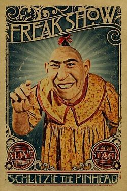 Image result for images circus side show freaks