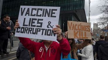 Image result for free pics mass anti vax rally